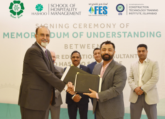 Hashoo School of Hospitality Management joins hands with FES Higher Education Consultants